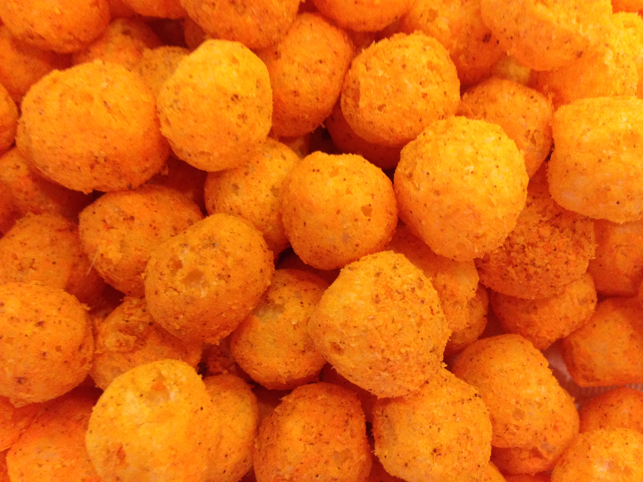 Spicy Ghost Foods Cheese Balls (2.5 oz bag) | Ghost Foods